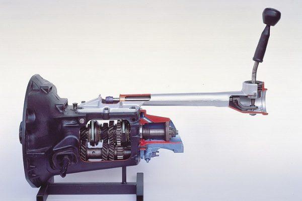 Vierganggetriebe mit Sperrsynchronisation
