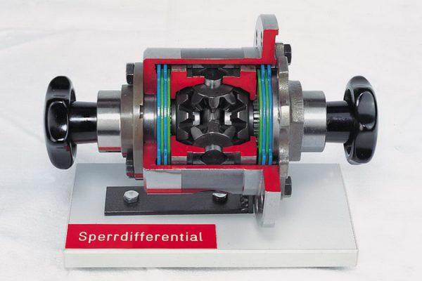 Selbstsperrendes Ausgleichsgetriebe mit Lamellenkupplungen (ZF)