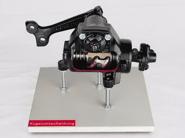 recirculating-ball steering