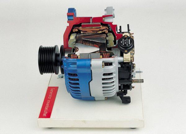 Generator innenbelüftet