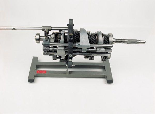 Montagemodell Fünfgang-Getriebe