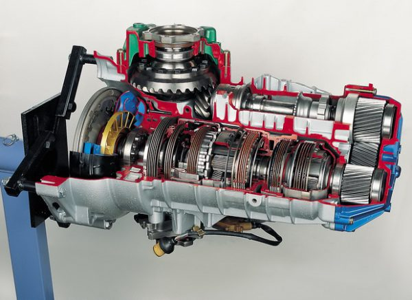 Fünfgang-Automatikgetriebe für Frontantrieb (ZF)