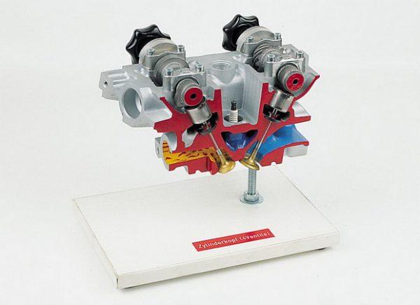 Zylinderkopf Vierventiltechnik