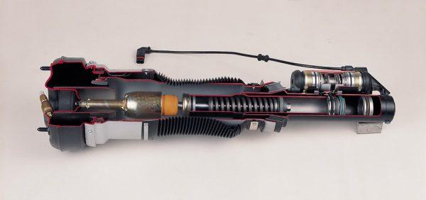 spring leg (air suspension)
