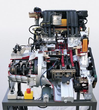 Mercedes-Benz A-Klasse Dieselmotor mit Common Rail Technik