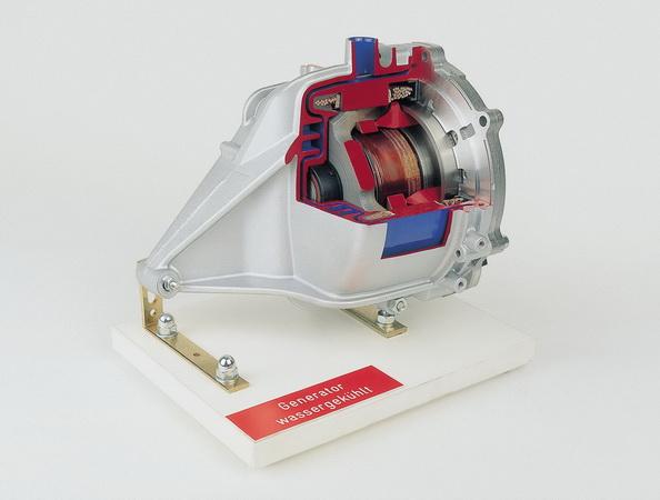 Generator wassergekühlt