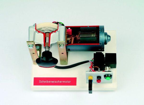 Funktionsmodell Scheibenwischermotor