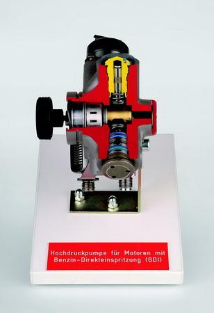 Hochdruckpumpe für  Motoren mit Benzin-Direkteinspritzung (GDI)
