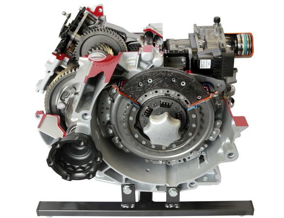 seven-speed direct shift transmission (VW)