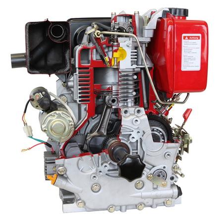 Diesel-Industriemotor