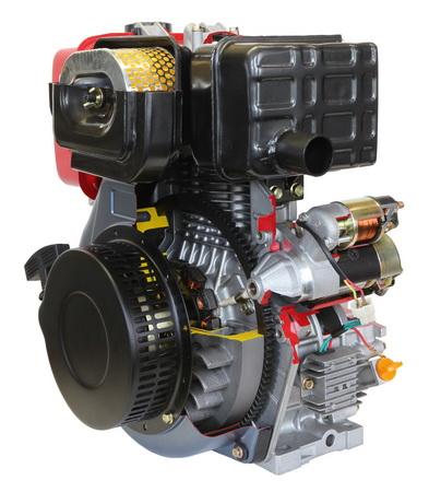 Diesel Industriemotor