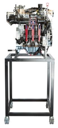 Benzin-Direkteinspritzer Motor M 270 Mercedes Benz