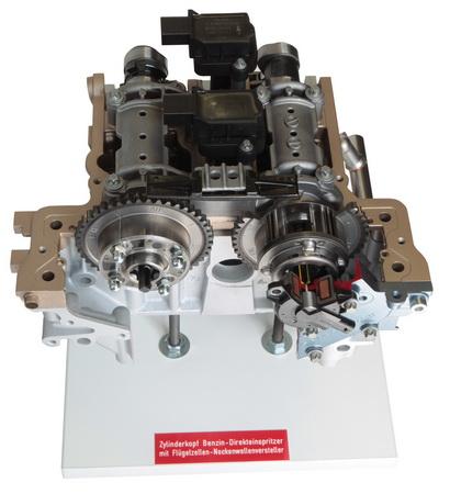 Zylinderkopf Benzin-Direkteinspritzer M 271 Evo Mercedes Benz