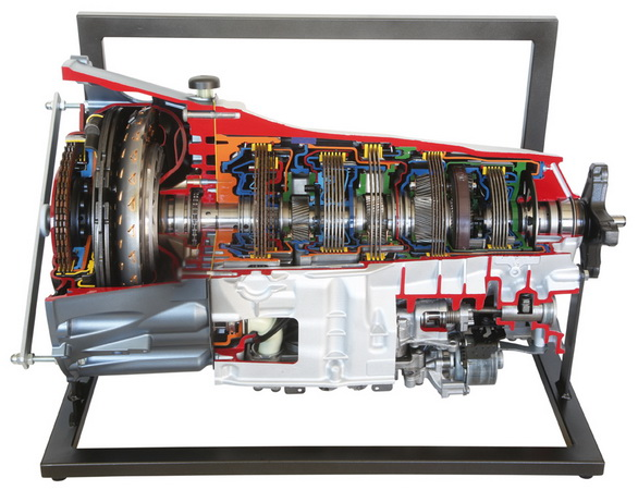 Mercedes-Benz 9-gear automatic transmission NAG 3