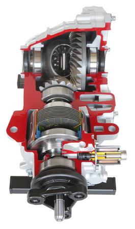 Hinterachsgetriebe (Elektronisches Traktions-System) A-Klasse AMG