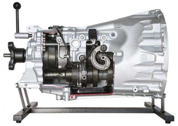 6-Gang ZF-Schaltgetriebe