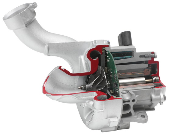 Electric turbocharger (e-booster)
