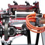 Elektromotor mit Getriebe von VW