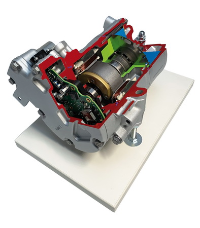 Electric scroll compressor for e-mobility from Mercedes-Benz