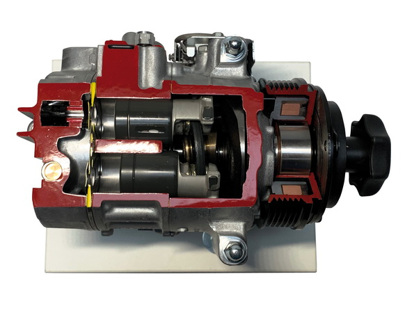 Denso air conditioning compressor