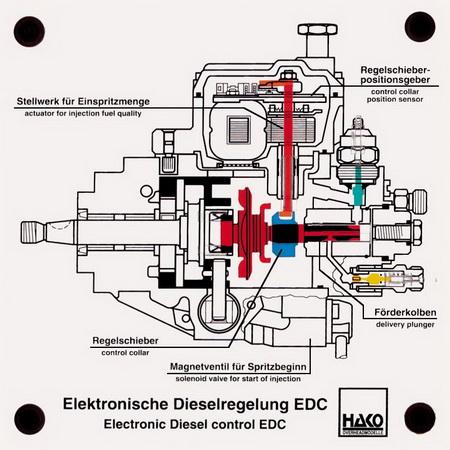 Elektronisch gesteuerte Verteilereinspritzpumpe