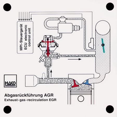 Abgasrückführung AGR