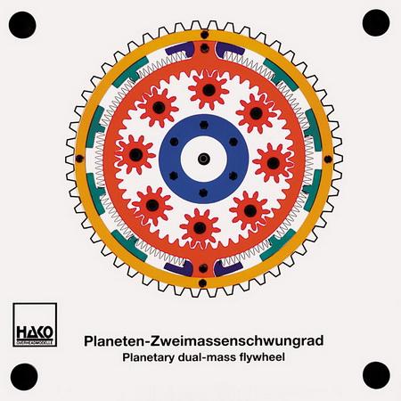 Planeten-Zweimassenschwungrad