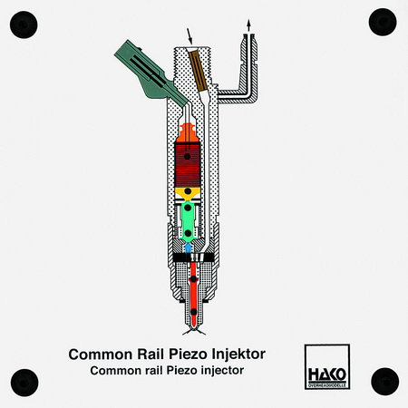 Common-rail Piezo Injektor