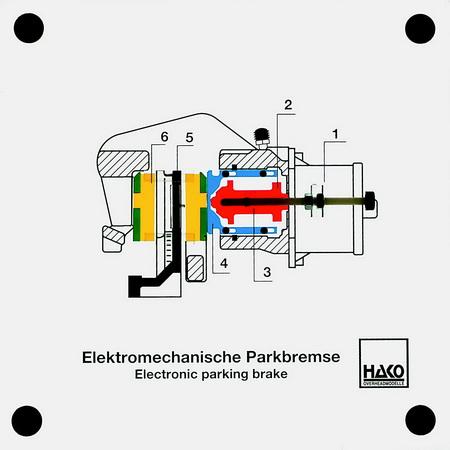 Elektromechanische Parkbremse