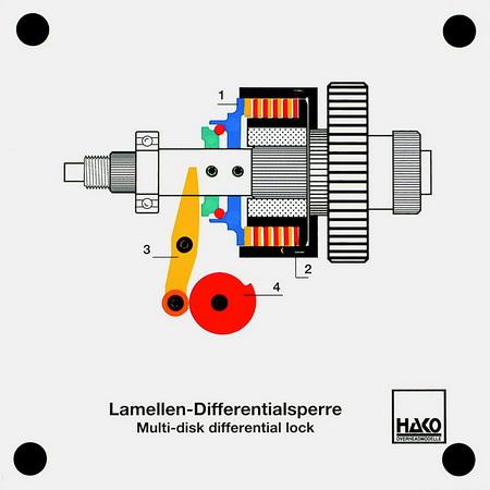 Lamellen-Differentialsperre